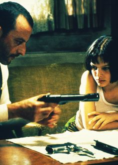 Leon.  I always see scenes from this movie but have yet to see it. On my to (eventually if ever) do list.