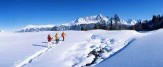 Savognin snowshoeing itenaries