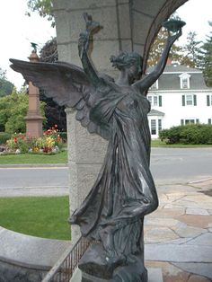 """The Spirit of Life"" by Daniel Chester French, St. Paul's Episcopal Church, Stockbridge, MA."