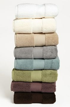Nordstrom at Home Hydrocotton Hand Towel $18 each (in Ivory) These are the best towels!! Wait until the Anniversary sale to get it cheaper at $12.90