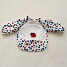 Child's Bib with sleeves  FREE SHIPPING by JillnDee on Etsy, $15.00