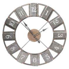 """$69.99, Was $159.90, 56% Off! Metal Wall Clock - 36"""" dealfomo"""