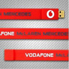 McLaren Mecedes USB Wristband