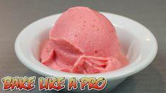 LOW Fat Frozen Strawberry Yogurt Ice Cream Recipe