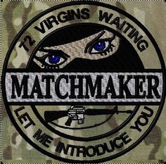 OML Patches - Matchmaker, NEW PATCH Tactical Life, Tactical Gear, Zombie Life, Molon Labe, Tactical Patches, Military Insignia, Cool Patches, Morale Patch, Humor