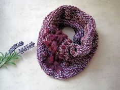This homemade loop scarf is very soft and warm. Has a nice braid pattern with small pompoms. Material: Lana wool, acrylic, nylon Color: white, purple Washable at hand wash GR: About length 40 cm width 37 cm Braided Scarf, Loop Scarf, Nylons, Braid Patterns, Cool Braids, Etsy Shop, Homemade, Wool, Purple