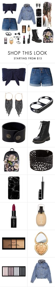 """""""It's Called The I Don't Care"""" by catsmeow123 ❤ liked on Polyvore featuring Solid & Striped, LE3NO, Humble Chic, AS29, Ted Baker, Harper & Blake, MAC Cosmetics, Smashbox, Sisley and NYX"""
