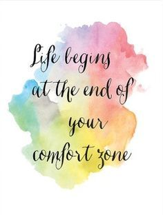 Life begins at the end of your comfort zone. Nick Gurry Loan Market