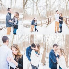 Fine Art Indianapolis Destination Wedding Photographer - Winter Snow Engagement Session Source by KMPAD Look winter