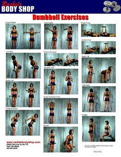 Arm Workout. Dumbbell Exercises