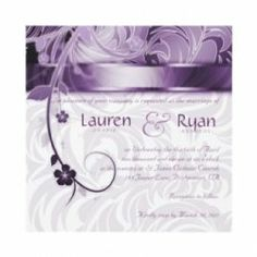 Here you'll find wedding supplies in all hues of purple - royal, violet, lavender, lilac, plum, eggplant, and more! Also pretty purple wedding...