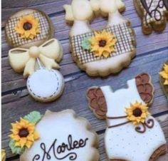 Baby Theme, Sugar, Cookies, Desserts, Food, Tailgate Desserts, Biscuits, Deserts, Essen
