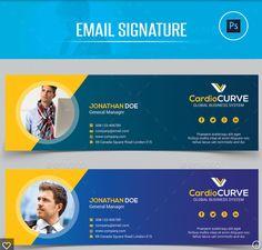 Email Signature Templates, Email Templates, Menu Design, Branding Design, Logo Design, Layout Design, Signature Design, Signature Logo, Firma Email
