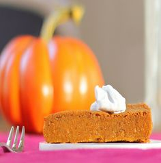 CCK - Crustless Pumpkin Pie!