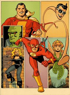 """Justice League by Evan """"Doc,"""" Shaner"""