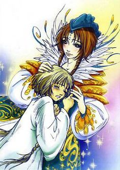 Elyon with her mother