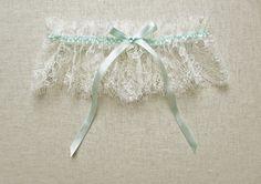 Antiquity lace silk garter от florriemitton на Etsy