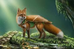 Fox Guardian by Eeddey.deviantart.com on @deviantART