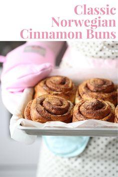 Classic Norwegian Cinnamon Buns | The Inspired Home