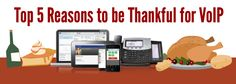 Top 5 Reasons to be Thankful for VoIP
