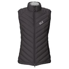 Windproof hybrid gilet with a down and synthetic fibre filling - Down jackets - Jackets - Apparel - Women - Jack Wolfskin International