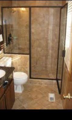 Small bathroom remodel.