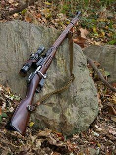 Mosin 1891 w/ scope Ww2 Weapons, Battle Rifle, Bolt Action Rifle, Custom Guns, Hunting Rifles, Cool Guns, Military Weapons, Guns And Ammo, Revolver