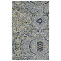 Christopher Grey Classique Hand-Tufted Rug (10'0 x 14'0) | Overstock.com Shopping - The Best Deals on 7x9 - 10x14 Rugs