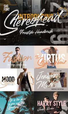 The Essential Script Font Bundle Hand Lettering Fonts, Script Fonts, Typography Fonts, Lettering Tutorial, Lettering Styles, Handwriting Fonts, Calligraphy Fonts, Graffiti Font, Great Fonts