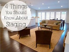 4 Thing You Should Know About Staging by It's Great To Be Home