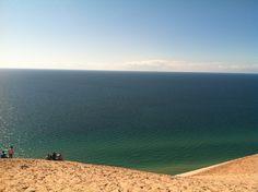 Lake Michigan from Sleeping Bear Dunes, Glen Arbor, MI