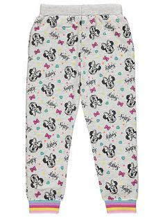 e63dc6921b69a4 Disney Minnie Mouse Marl Grey joggers | Kids | George Grey Joggers, Asda,  Kids