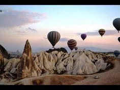 Voo de balão na Capadócia, Turquia.