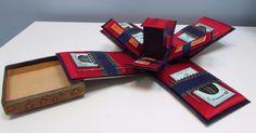 30's Folding Sewing Box
