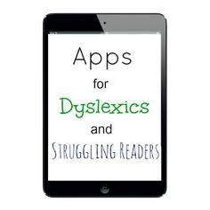 Apps for Dyslexics and Struggling Readers – Lisa Herman Apps for Dyslexics and Struggling Readers This site has apps for all sorts of special needs students. Apps for Dyslexics and Struggling Readers Reading Help, Teaching Reading, Teaching Tools, Maxon Schreave, Just In Case, Just For You, Learning Support, Learning Apps, Reading Strategies
