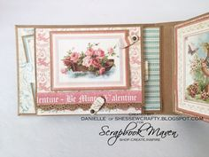 Spring Mini Album, Sweet Sentiments, by Danielle Copley, product by Graphic 45