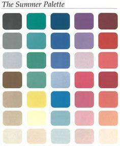 palette couleur été
