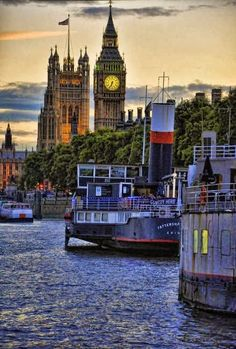The Thames , London. Our tips for things to do in London: http://www.europealacarte.co.uk/blog/2013/08/09/london-tips/