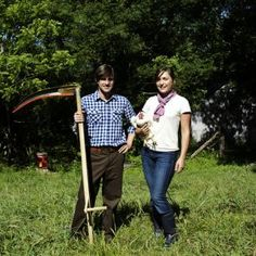 """The Young Farmers Series: David Wells & Sarah Bellos, Stoney Creek Farm    """"We must work to rebuild the once rich soils of the United States and make sure those farmers taking the risk to do it right can at least take home a living wage."""""""