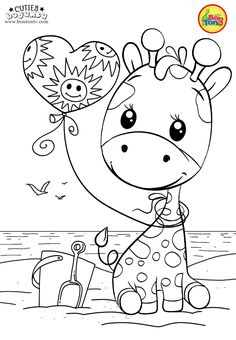 Coloring Pages for Kids - Free Preschool Printables - Slatkice Bojanke - .,Cuties Coloring Pages for Kids - Free Preschool Printables - Slatkice Bojanke - . Giraffe Coloring Pages, Cute Coloring Pages, Disney Coloring Pages, Coloring Pages To Print, Adult Coloring Pages, Coloring Books, Free Printable Coloring Sheets, Coloring Sheets For Kids, Preschool Printables