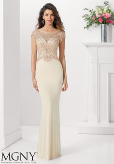 Evening Gowns and Mother of the Bride Dresses - Dress Style 71130