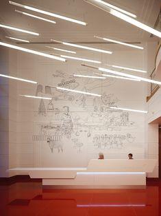 Virgin Atlantic Empfangsbereich Design von Checkland Kindleysides | Studio5555