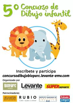 V Edición del Concurso de Dibujo Infantil de Bioparc Valencia - http://www.valenciablog.com/v-edicion-del-concurso-de-dibujo-infantil-de-bioparc-valencia/