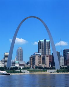 Missouri.  My brother lives here and we have taken trips with mom and the kids here.  One year we went all the way to the top of the Arch - made me sick but it was an amazing experience.