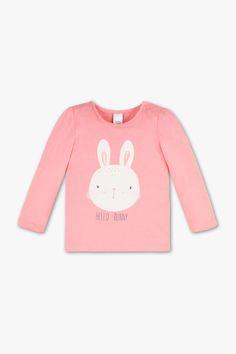 768cb1c5b Baby Club Camiseta de manga larga para bebé - Algodón orgánico - estampado