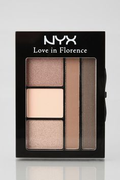 The perfect neutral palette from NYX. #urbanoutfitters