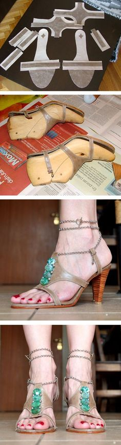 #chicaoutlet - Mis sandalias - DIY how cool
