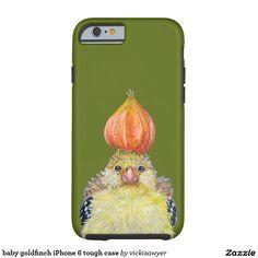 baby goldfinch iPhone 6 tough case Tough iPhone 6 Case