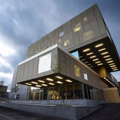 The Library, Copenhagen by COBE. Would make a sweet house.