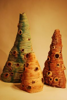 coils-handbuilding in sculpture